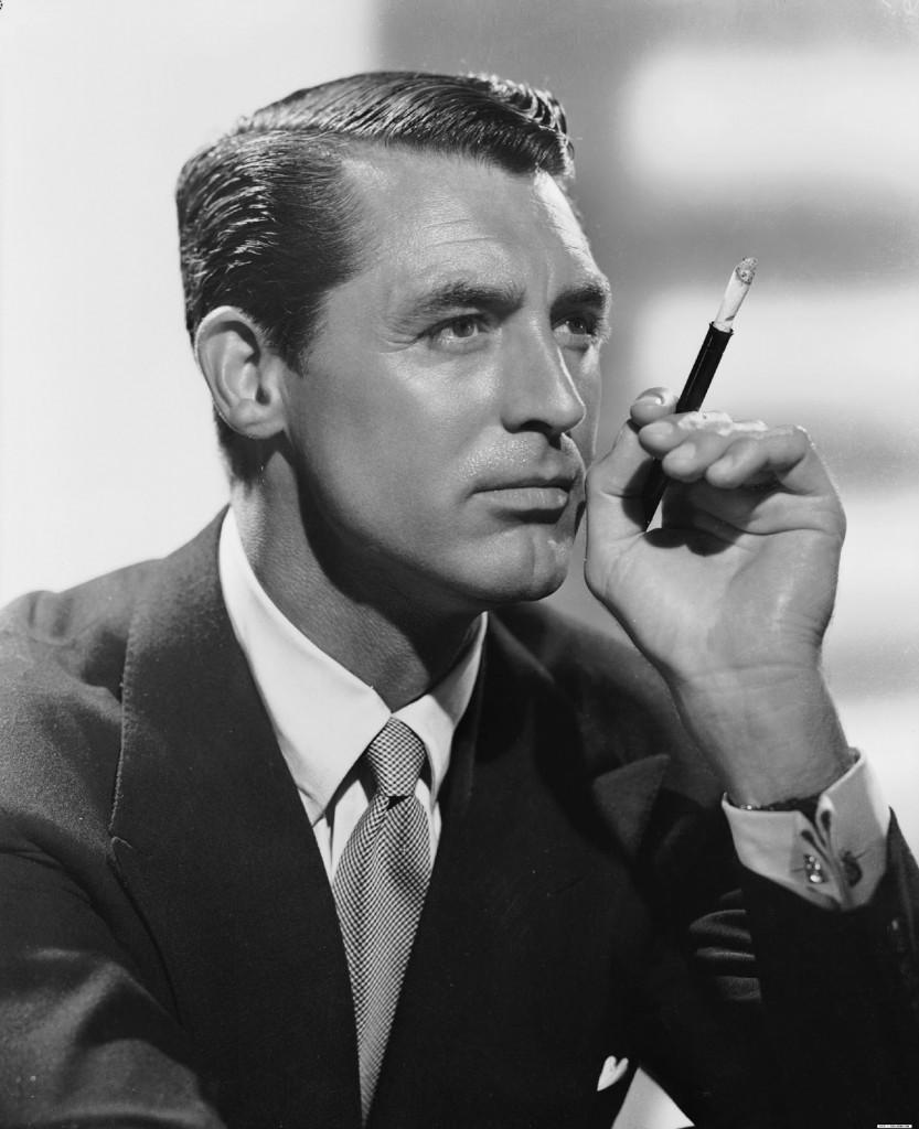 Cary Grant z papierosem