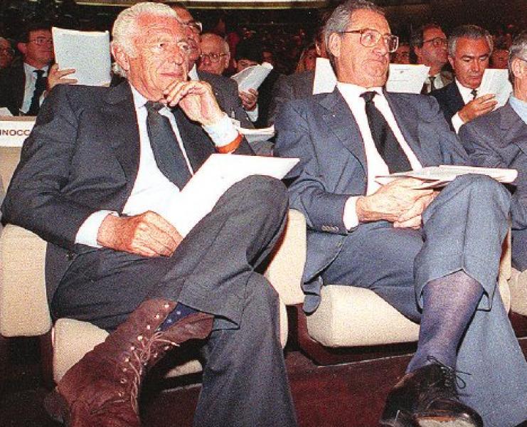 Gianni Agnelli na widowni