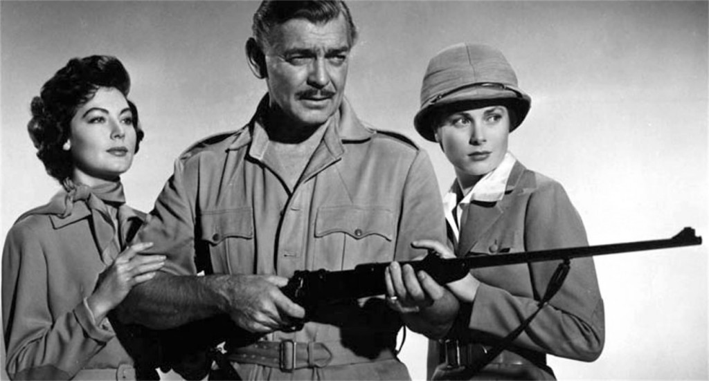 Clark Gable na safari