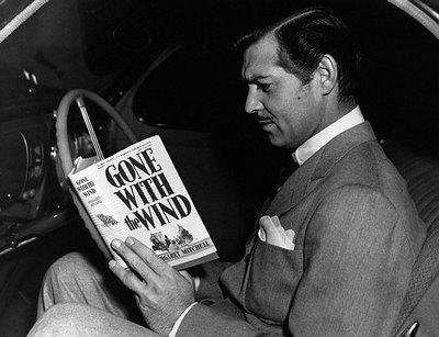 Clark Gable czyta Przeminęło z wiatrem