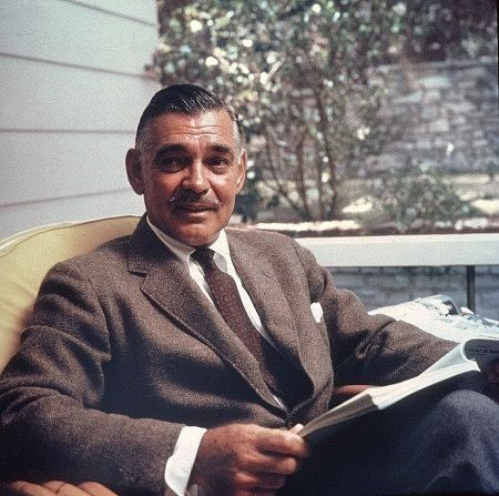 Clark Gable na werandzie