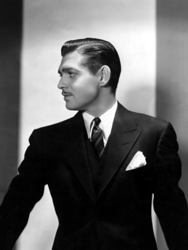Clark Gable w garniturze