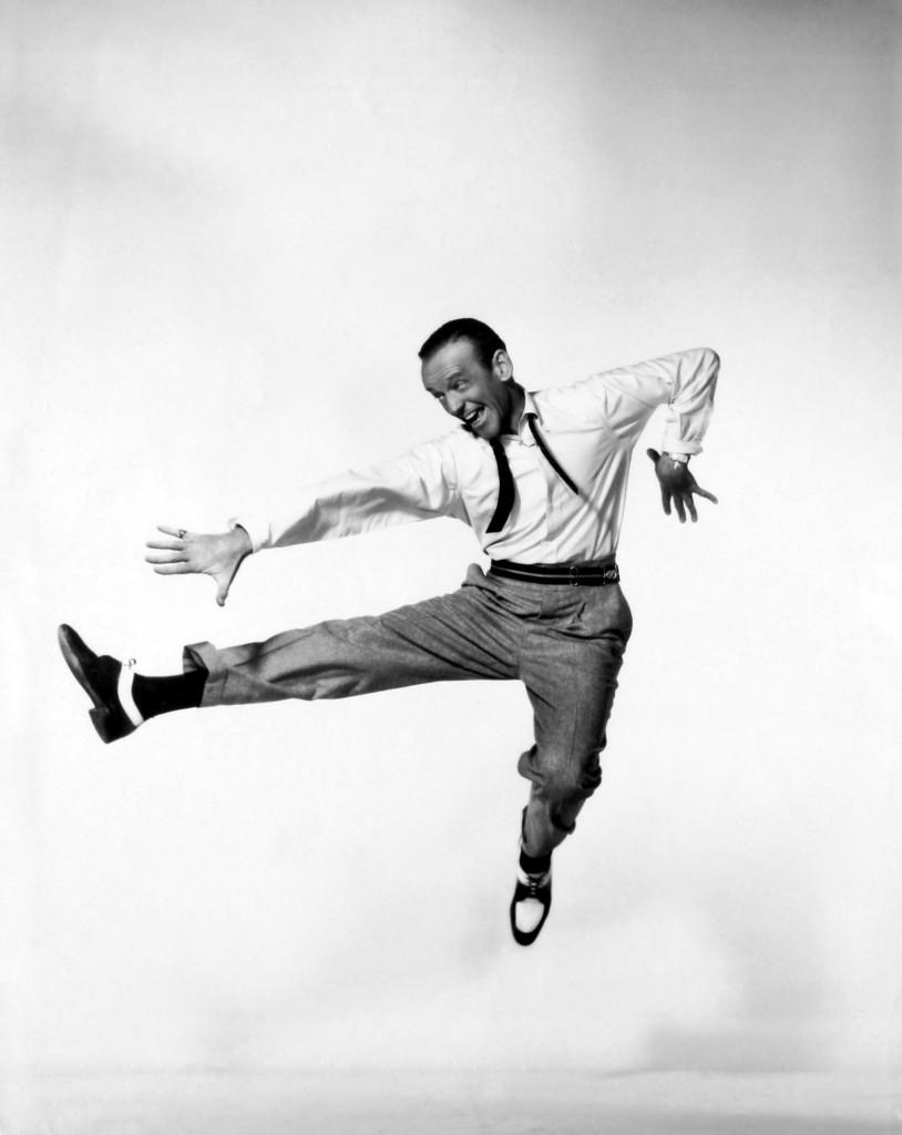 Fred Astaire skacze