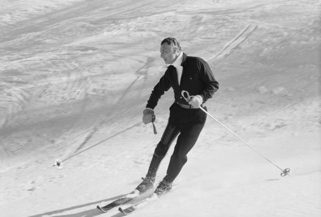 Gianni Agnelli na nartach