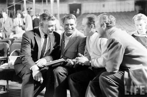 Clark Gable z innymi mężczyznami