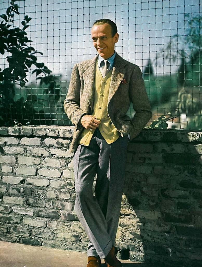 Fred Astaire w zestawie koordynowanym