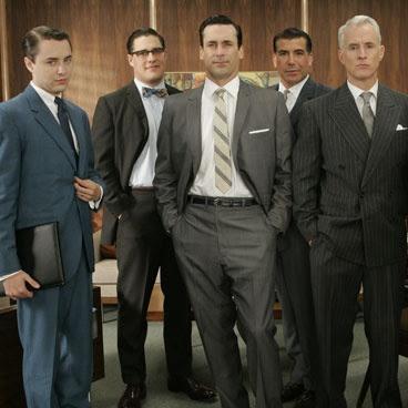 bohaterowie serialu Mad Men