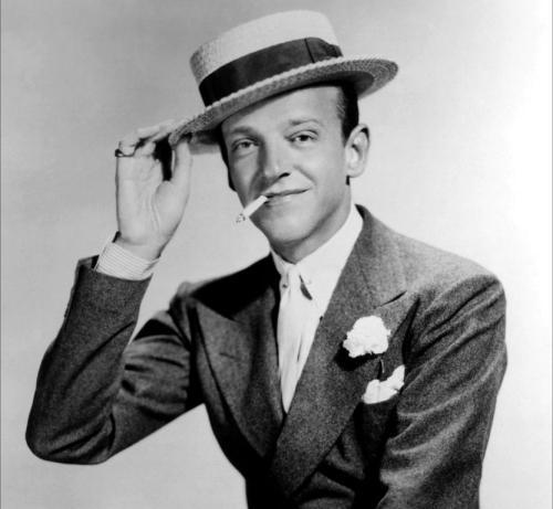 Fred Astaire we flanelowej marynarce dwurzędowej
