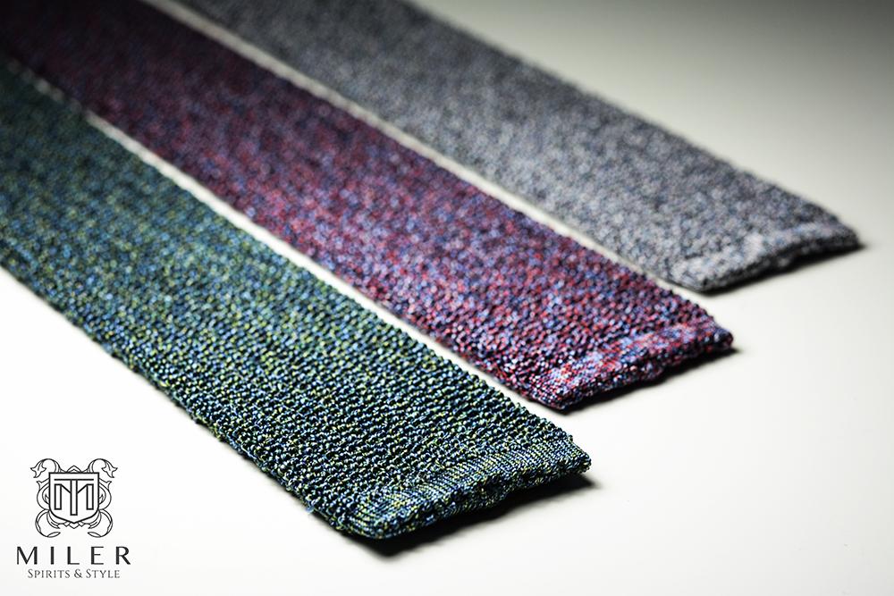krawaty dziergane