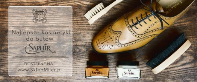kosmetyki do pielęgnacji obuwia SAPHIR