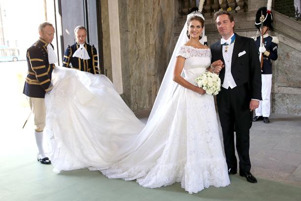 Ślub szwedzkiej księżniczki Magdaleny i Christophera O'Neill'a