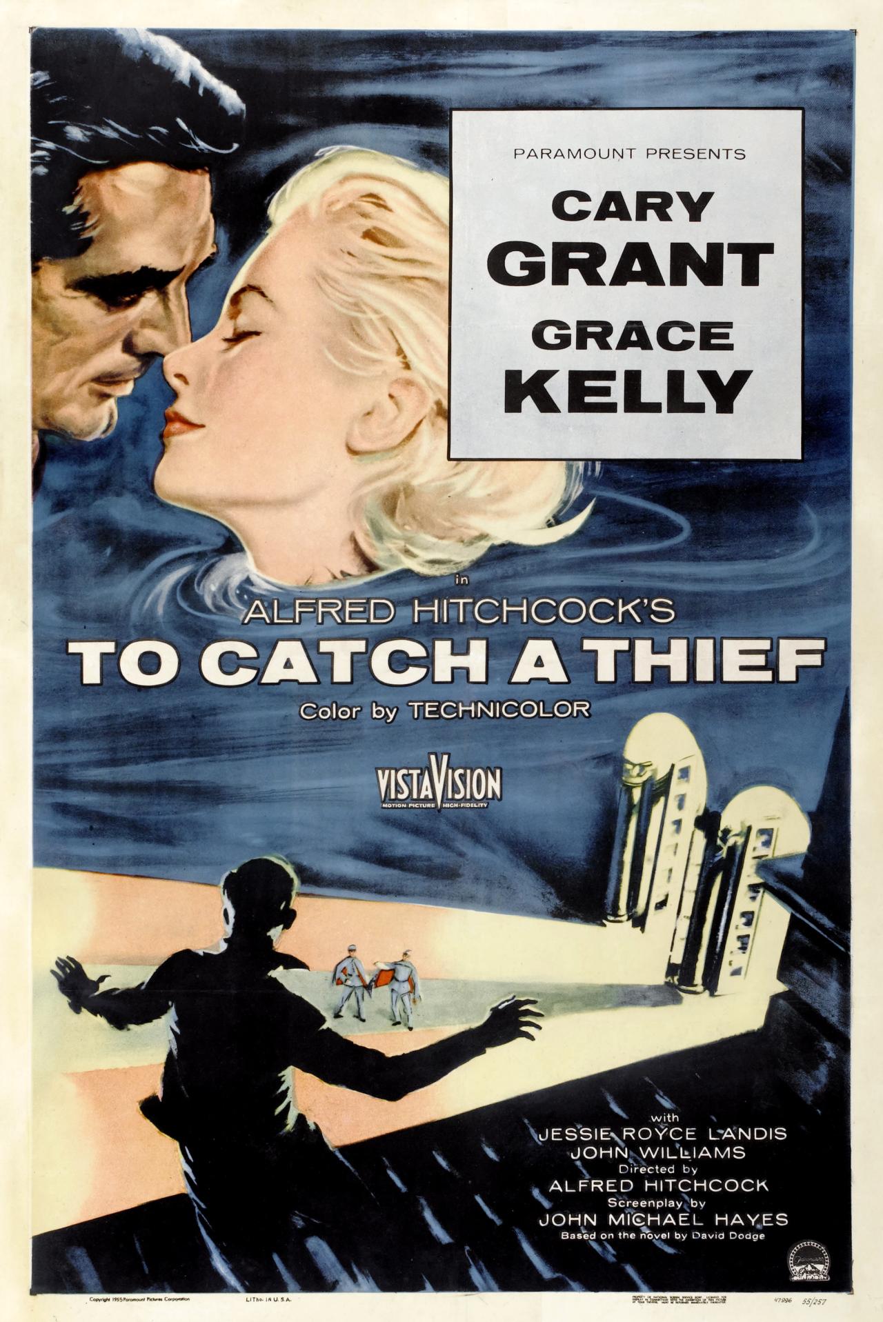 plakat filmu Złodziej w hotelu
