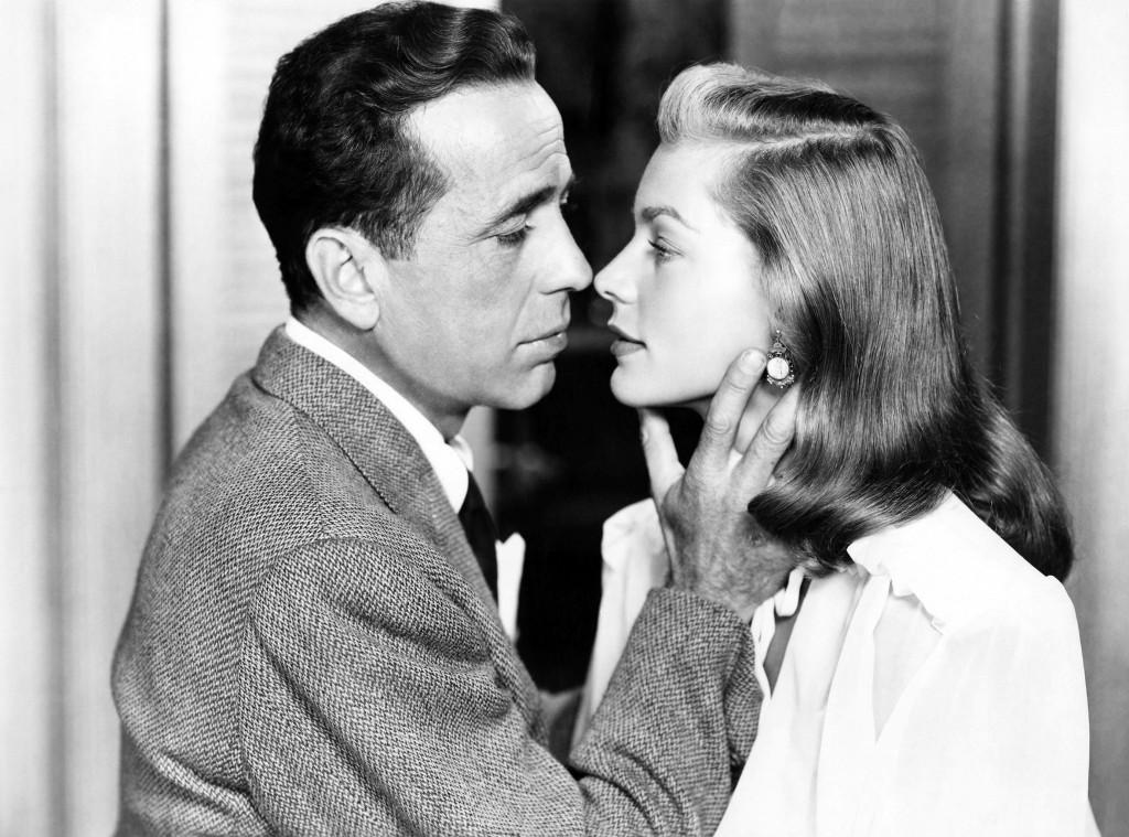 Humphrey Bogart i Lauren Bacall, jego żona