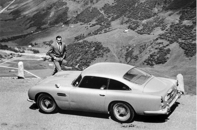 samochód Aston Martin