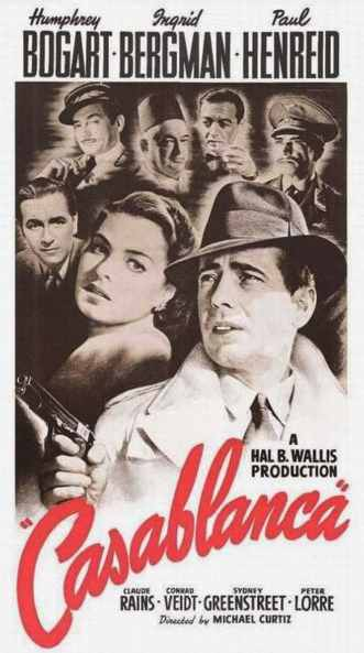 plakat filmu Casablanca