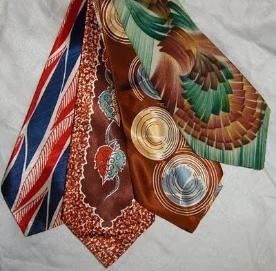 wzorzyste krawaty