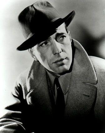 Humphrey Bogart w kapeluszu