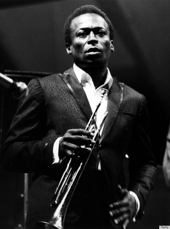 Miles Davis w stylu Ivy Look
