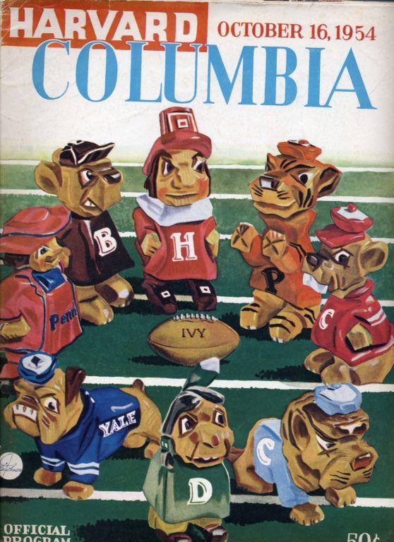 Program rozgrywek Ivy League z 1954r.