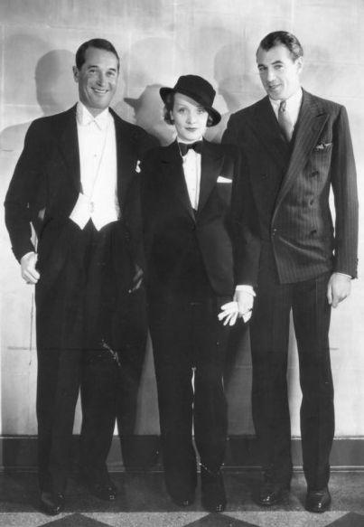 Marlene Dietrich w smokingu