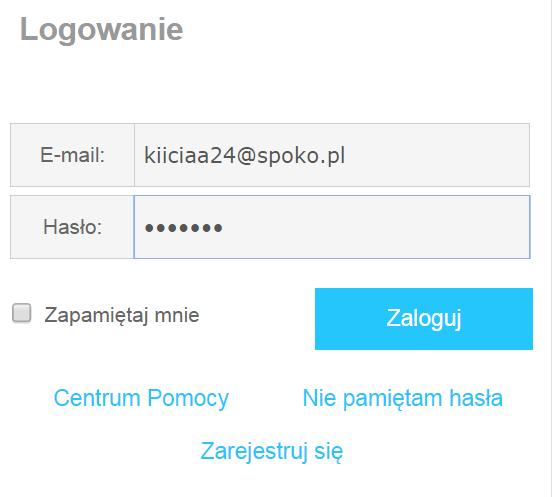 nieprofesjonalny adres e-mail