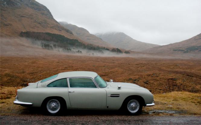 Aston Martin w Skyfall