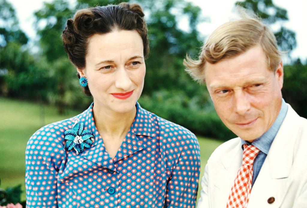 Książę Windsoru z żoną