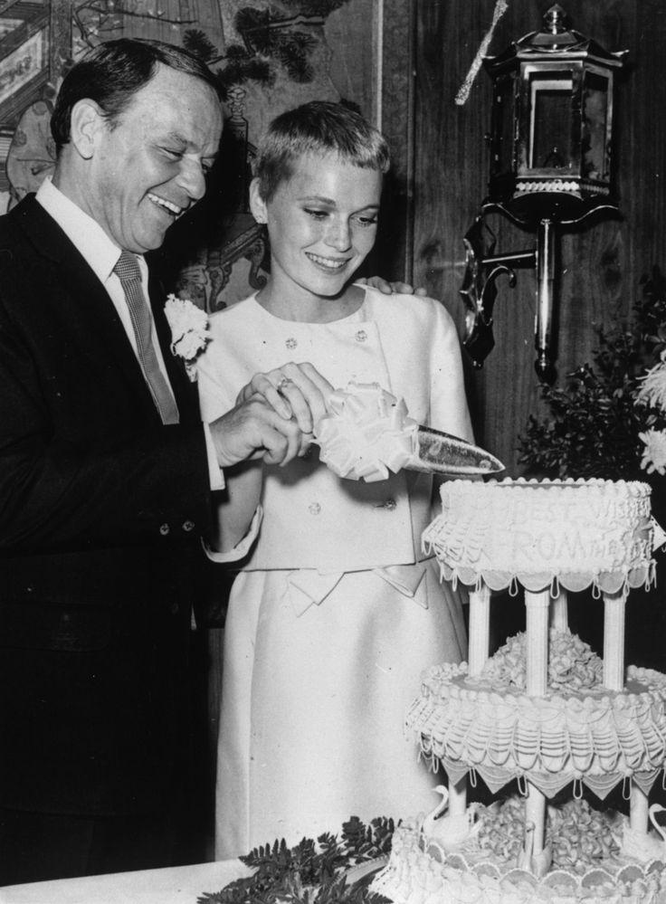 Sinatra i jego trzecia żona, Mia Farrow