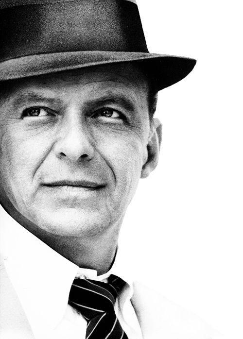 Frank Sinatra w kapeluszu