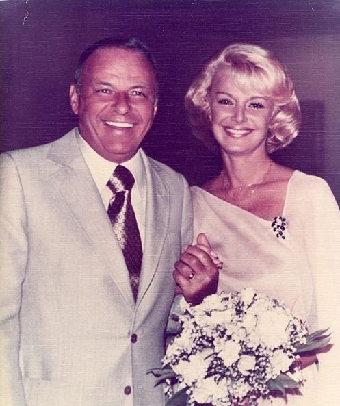 Frank Sinatra u boku czwartej żony - Barbary Marx