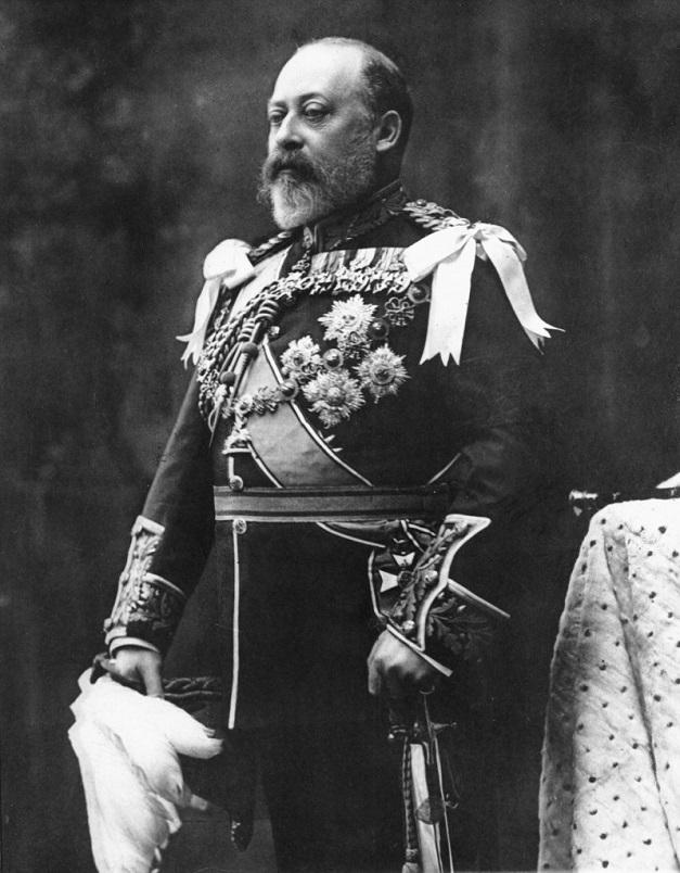 Edward VII - zdjęcie portretowe