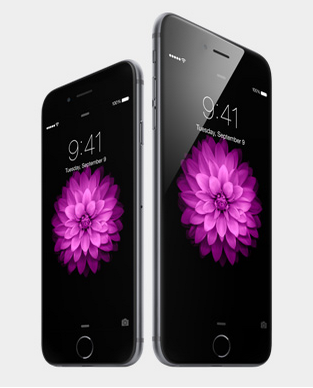 zdjęcie promocyjne iPhone'ów z godziną 9.41 na zegarze