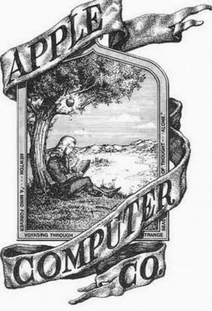 pierwotne logo Apple