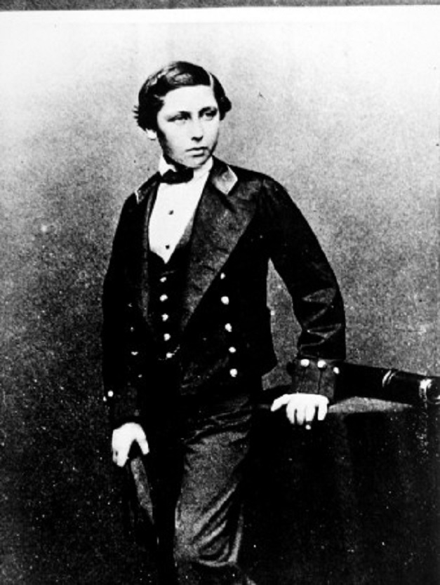 młody Edward VII