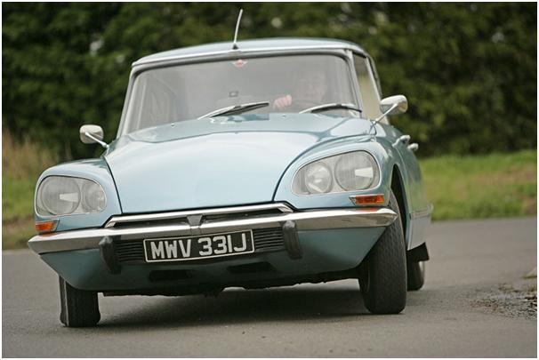 Citroën DS z przodu