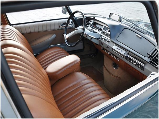 wnętrze Citroën DS'a