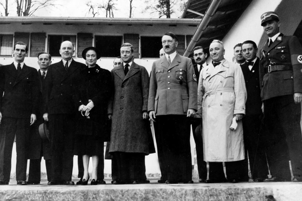 książę Windsoru, jego żona, Hitler i jego poplecznicy