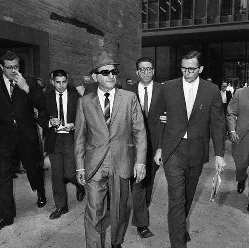 Sam Giancana - szef mafii i wieloletni przyjaciel Sinatry