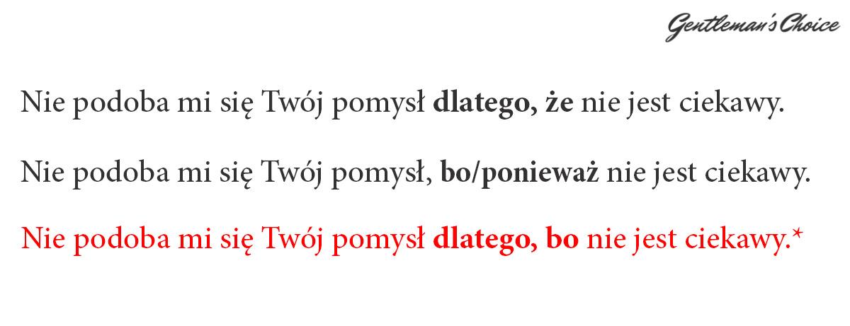 0ce59f10404eb5 10 najczęstszych błędów językowych! • Gentleman's Choice ...