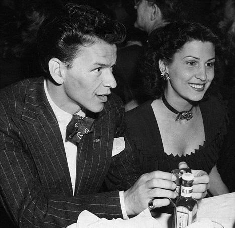 Sinatra z pierwszą żoną, Nancy Barbato