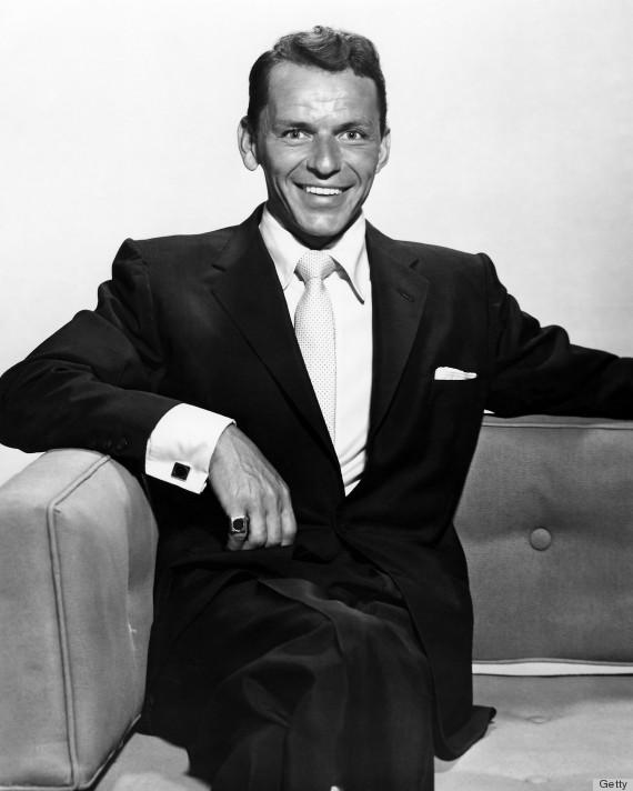 Frank Sinatra w garniturze