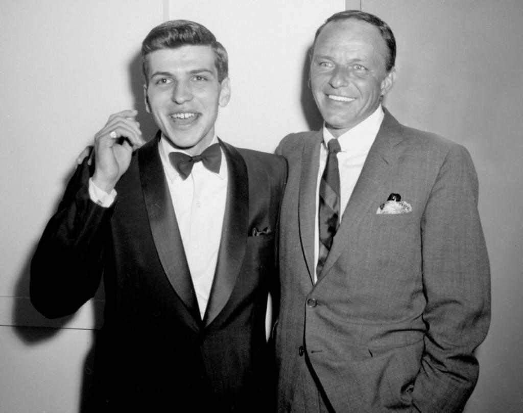 Frank Sinatra z synem, Frankiem Sinatra Jr.