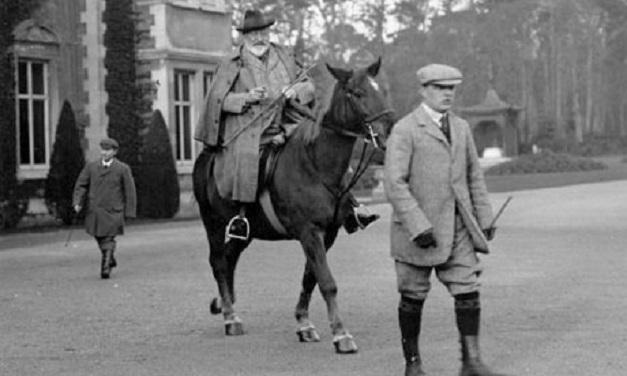 Edward VII na swoim ulubionym koniu
