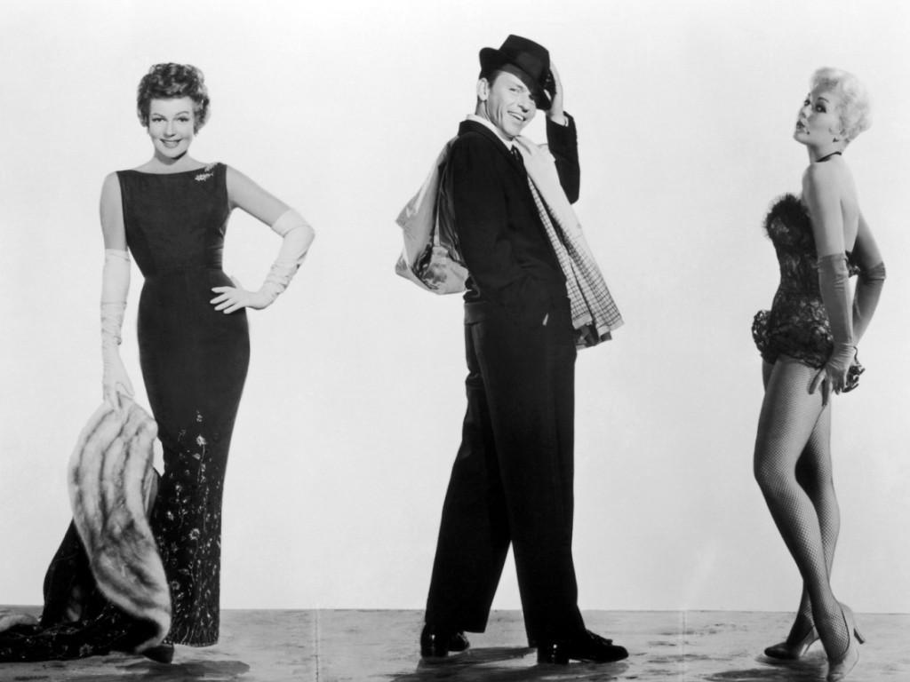 Frank Sinatra i dwie piękne kobiety