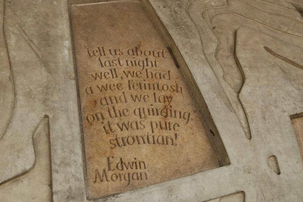 cytat umieszczony na budynku Parlamentu