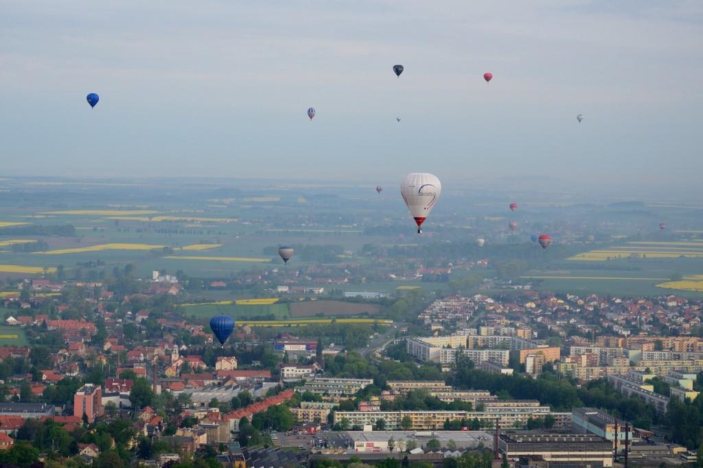 Balony nad Dzierżoniowem
