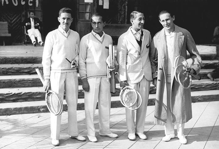 czterej muszkieterowie francuskiego tenisa