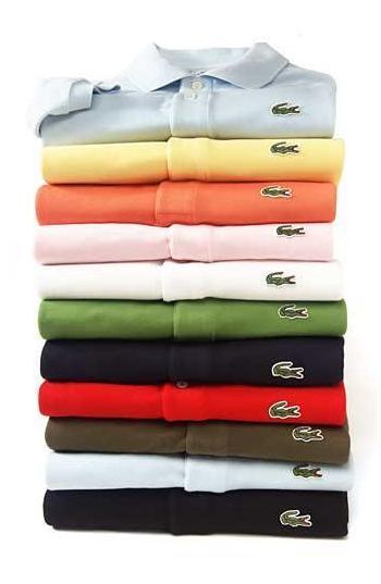 kolorowe koszulki polo Lacoste