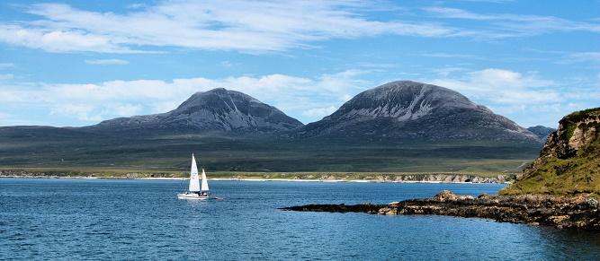 06 - Widok na wyspę Jura. (1)