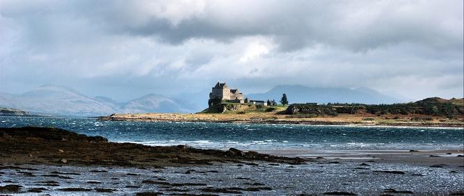 10 - Duart Castle na wyspie Mull. (1)